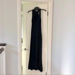 James Perse Black Maxi Dress